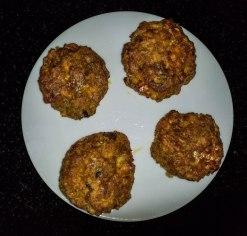 fishcakes, cookedr
